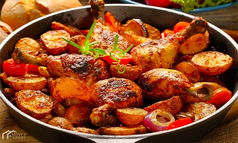 Baked Potato Chicken Recipe
