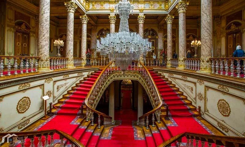 Dolmabahçe Palace Stair