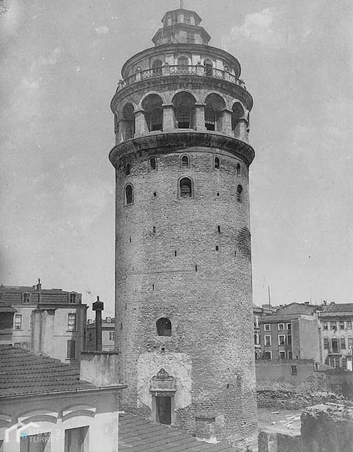 Galata Tower Old Photo