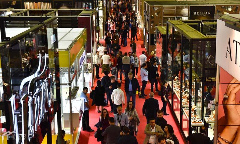 معرض المجوهرات في إسطنبول