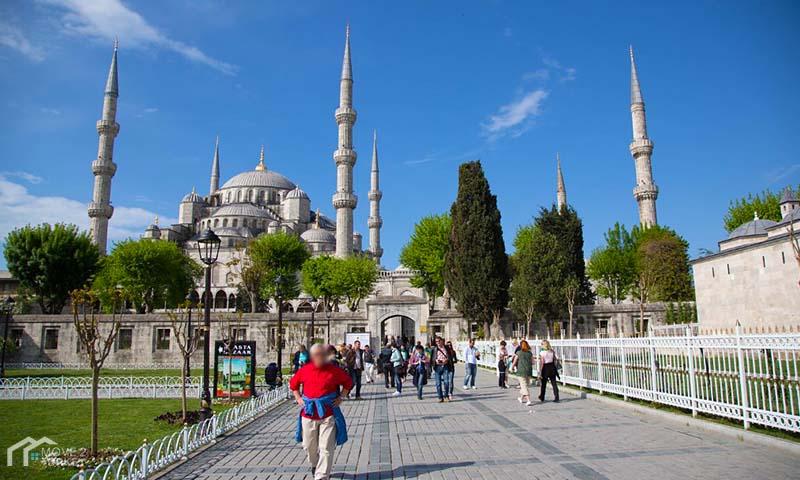 Sultan Ahmed Mosque | the blue Mosque garden
