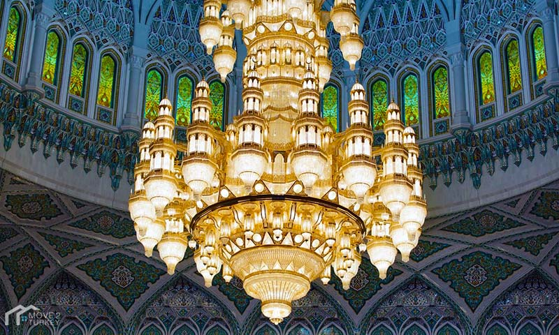 Sultan Ahmed Mosque | the blue Mosque Chandelier