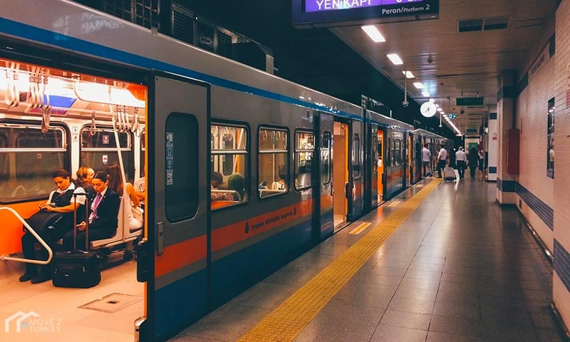 Istanbul Metro station