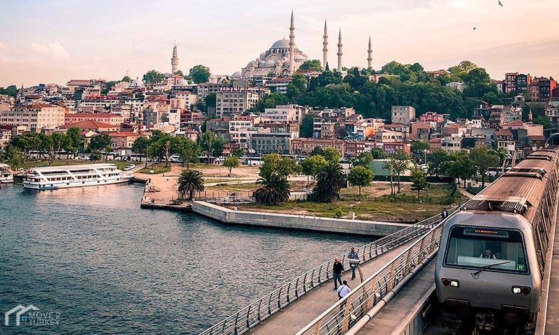 Istanbul Metro halic