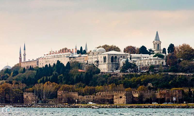 Topkapi Palace sea