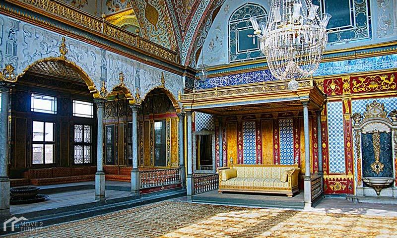 Topkapi Palace library