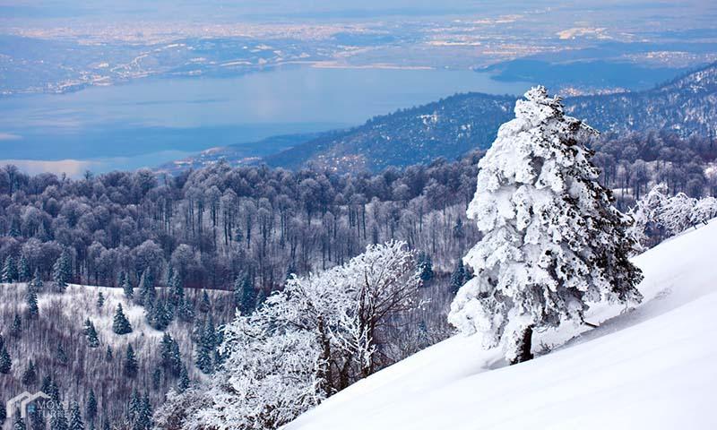 جبل كارتيبي في الشتاء
