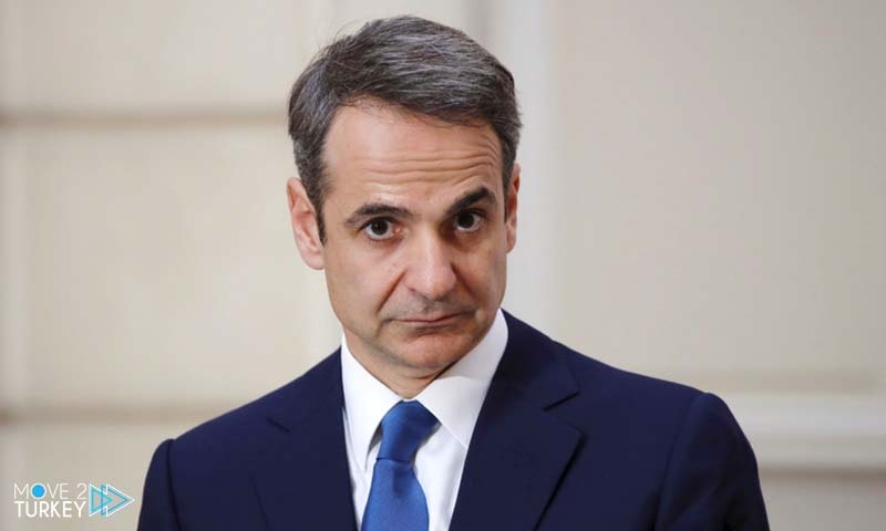 رئيس الوزراء اليوناني كيرياكوس ميتسو تاكيس