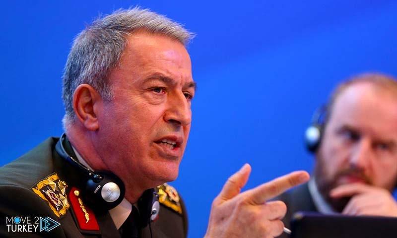 وزير الدفاع التركي هالوسي أكار