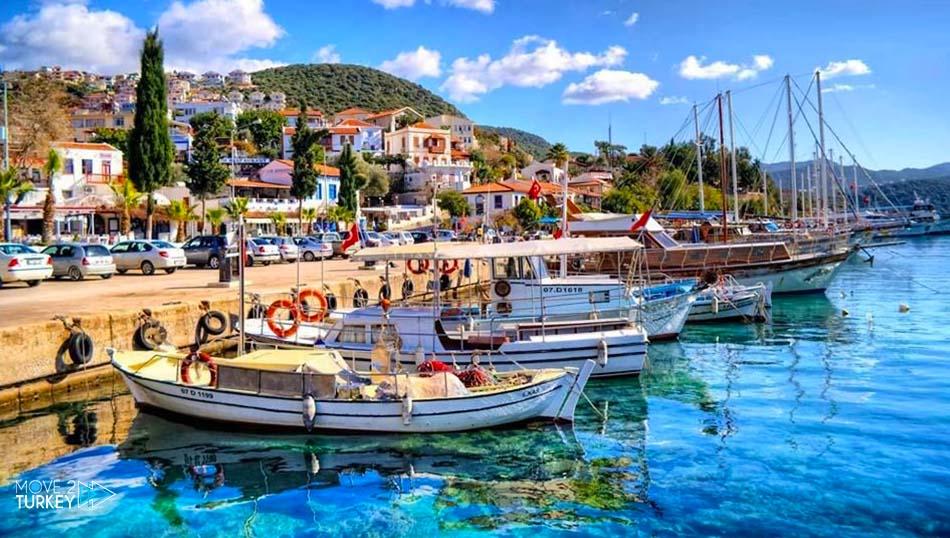 مدينة كاس في تركيا